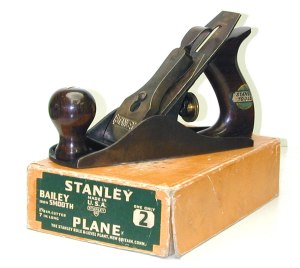 Stanley Bailey with Box