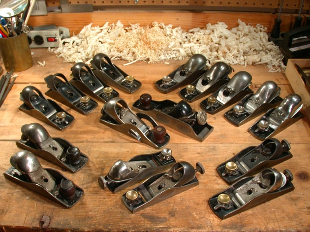 Block Planes from the Author's Collection