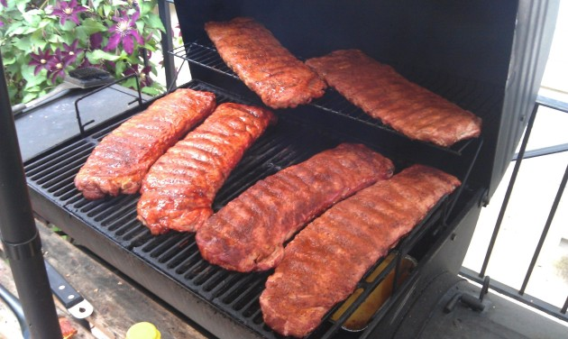 Smoking Ribs