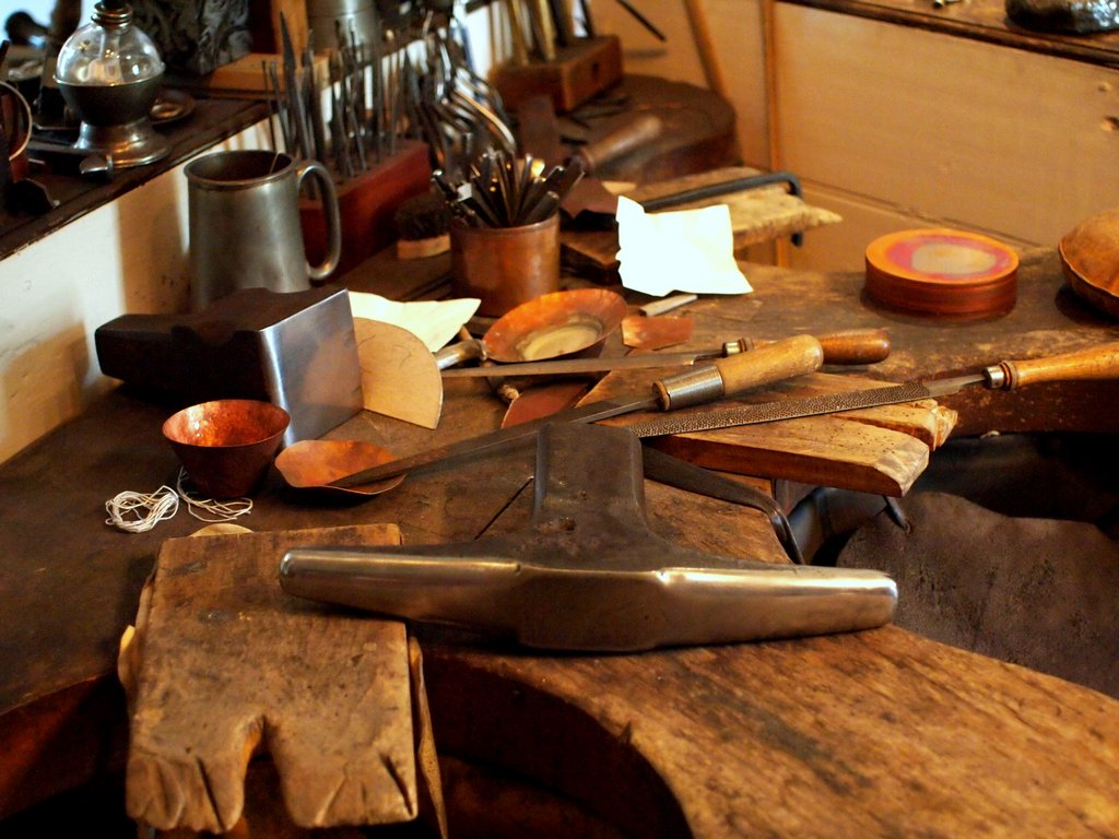 Goldsmith, Silversmith, & Jewelry Tools, Old and New | Virginia ...
