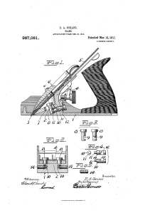 E. A Shrade Patent 987,081, Mar 14, 1911